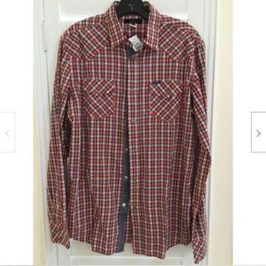 DIESEL Mens Shirt Large Long Sleeve